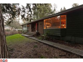 Photo 2: 13264 CRESCENT Road in Surrey: Elgin Chantrell House for sale (South Surrey White Rock)  : MLS®# F1102594