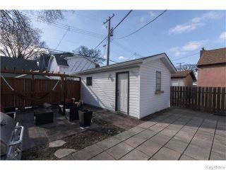 Photo 16: 140 Aubrey Street in Winnipeg: West End / Wolseley Residential for sale (West Winnipeg)  : MLS®# 1608340