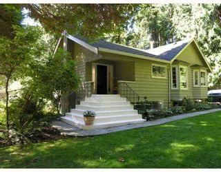 """Photo 1: 4075 CAPILANO PARK Road in North_Vancouver: Canyon Heights NV House for sale in """"CAPILANO"""" (North Vancouver)  : MLS®# V667641"""