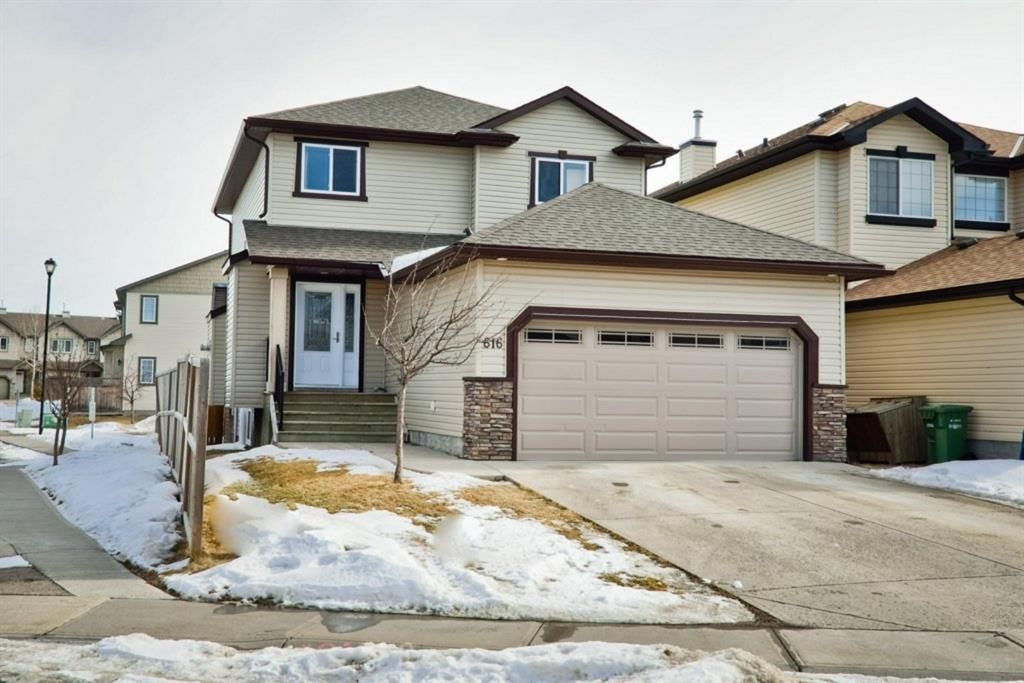 Main Photo: 616 Luxstone Landing SW: Airdrie Detached for sale : MLS®# A1075544