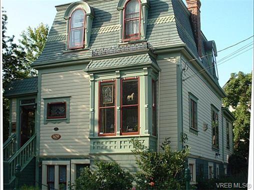 Main Photo: 609 Toronto St in VICTORIA: Vi James Bay House for sale (Victoria)  : MLS®# 751838