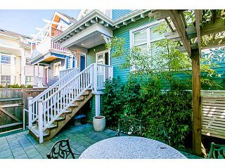"""Photo 14: 1 1624 GRANT Street in Vancouver: Grandview VE Townhouse for sale in """"GRANTS PLACE"""" (Vancouver East)  : MLS®# V1046767"""
