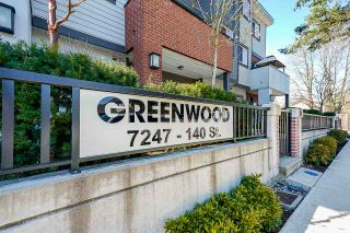 """Photo 37: 39 7247 140 Street in Surrey: East Newton Townhouse for sale in """"GREENWOOD TOWNHOMES"""" : MLS®# R2608113"""