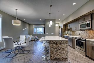 Photo 3: 228 10 WESTPARK Link SW in Calgary: West Springs Row/Townhouse for sale : MLS®# C4299549