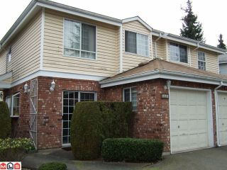"""Photo 1: 126 12233 92ND Avenue in Surrey: Queen Mary Park Surrey Townhouse for sale in """"ORCHARD LAKE"""" : MLS®# F1007573"""