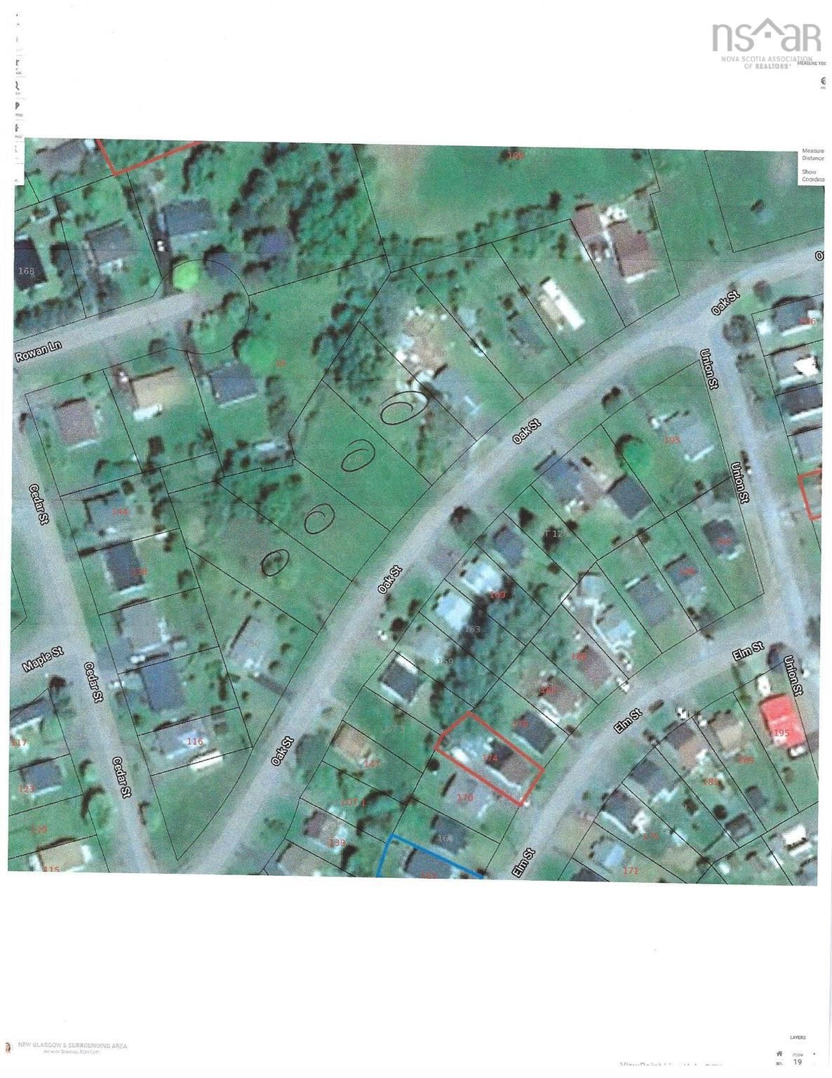 Main Photo: 176 Oak Street in Pictou: 107-Trenton,Westville,Pictou Vacant Land for sale (Northern Region)  : MLS®# 202123381