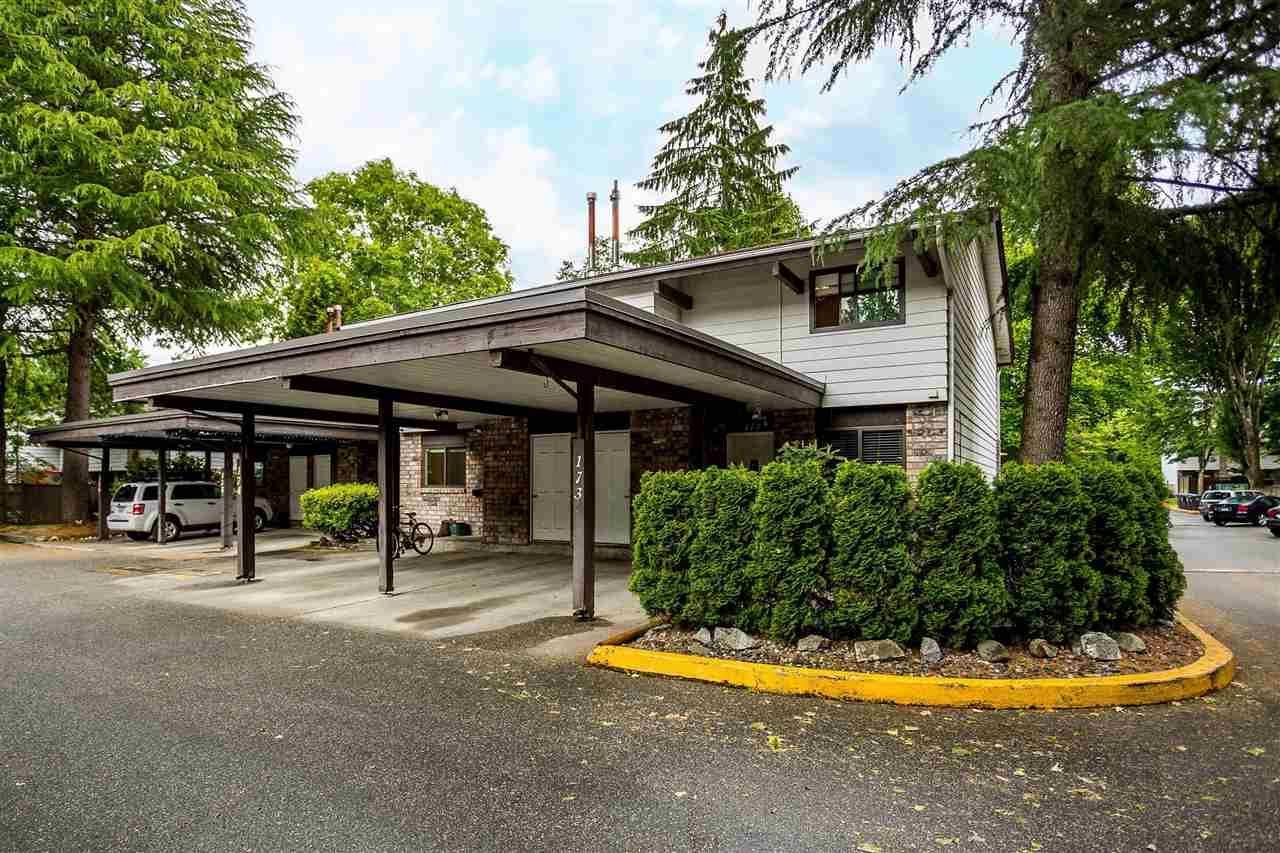 "Main Photo: 174 7454 138 Street in Surrey: East Newton Townhouse for sale in ""Glencoe"" : MLS®# R2589035"