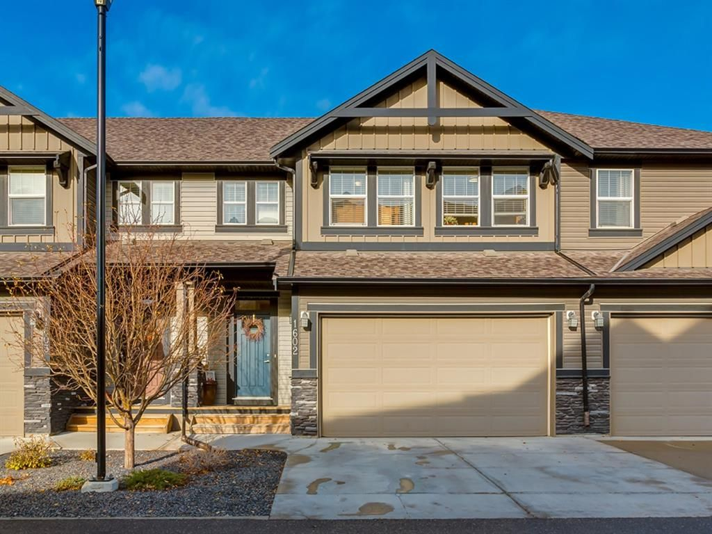 Main Photo: 1602 1086 Williamstown Boulevard NW: Airdrie Row/Townhouse for sale : MLS®# A1047528