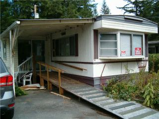 """Photo 1: 74 20071 24TH Avenue in Langley: Brookswood Langley Manufactured Home for sale in """"FERNRIDGE PARK"""" : MLS®# F1450529"""