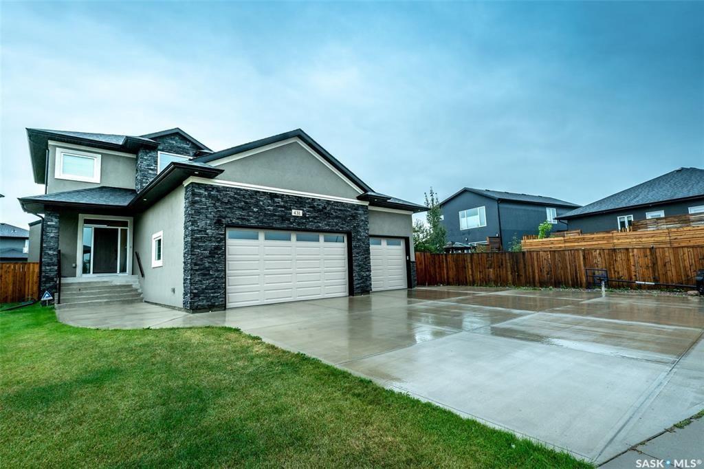 Main Photo: 431 Sauer Crescent in Saskatoon: Evergreen Single Family Dwelling for sale : MLS®# SK825701