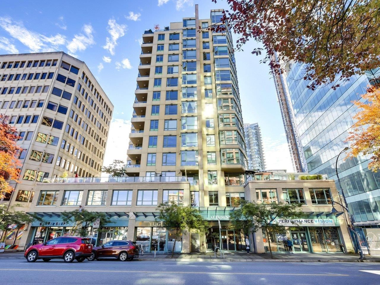 """Main Photo: 1304 1238 BURRARD Street in Vancouver: Downtown VW Condo for sale in """"ALTADENA"""" (Vancouver West)  : MLS®# R2620701"""