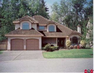 """Photo 1: 14831 83RD AV in Surrey: Bear Creek Green Timbers House for sale in """"SHAUNESSY ESTATES"""" : MLS®# F2509103"""