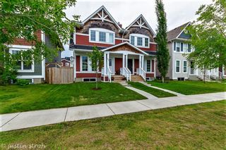 Photo 1: 43 AUBURN BAY Boulevard SE in Calgary: Auburn Bay Semi Detached for sale : MLS®# A1074651