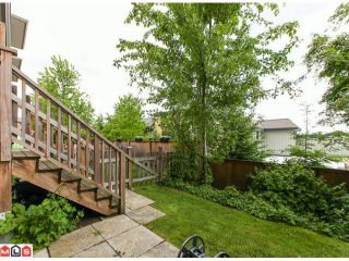 """Photo 10: 22 18701 66TH Avenue in Surrey: Cloverdale BC Townhouse for sale in """"ENCORE"""" (Cloverdale)  : MLS®# F1215196"""