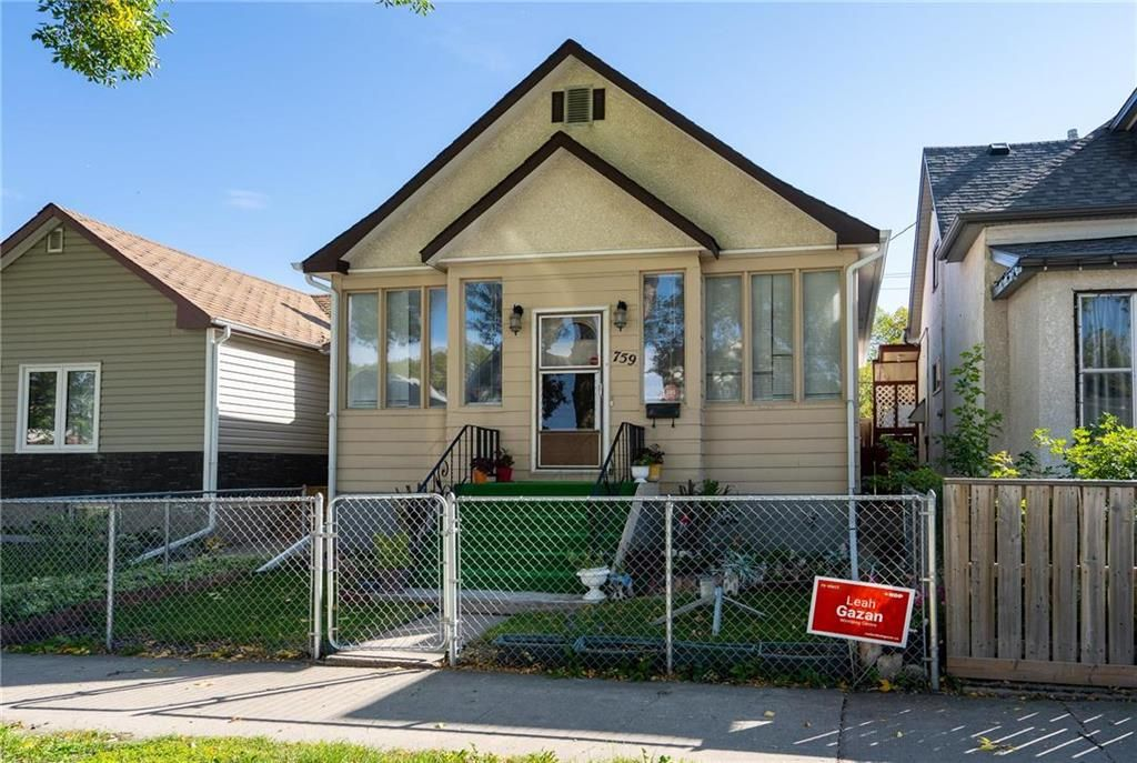 Main Photo: 759 Simcoe Street in Winnipeg: West End Residential for sale (5A)  : MLS®# 202122659