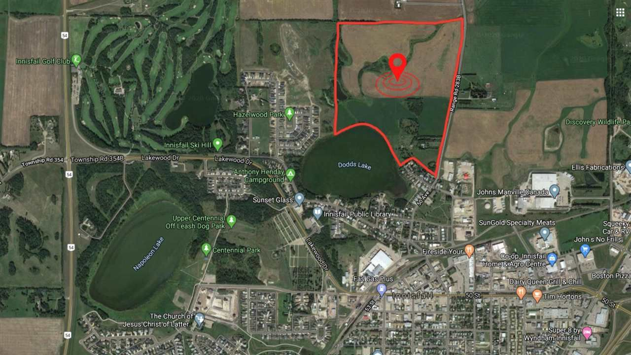 Main Photo: 5901 50 Avenue: Rural Red Deer County Rural Land/Vacant Lot for sale : MLS®# E4232886