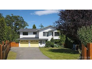 Photo 1: 1270 Lidgate Crt in VICTORIA: SW Strawberry Vale House for sale (Saanich West)  : MLS®# 643808