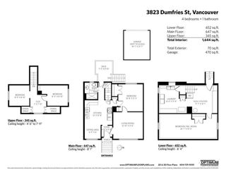 Photo 2: 3823 DUMFRIES Street in Vancouver: Knight House for sale (Vancouver East)  : MLS®# R2338282