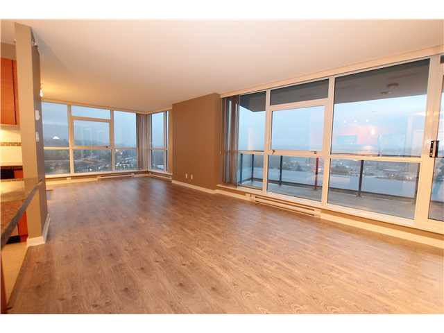 Sought after open concept living/dining room off the kitchen. With 2 bedrooms and den this spacious home boasts views to the SE overlooking the Burnaby Skyline and Mt Baker.