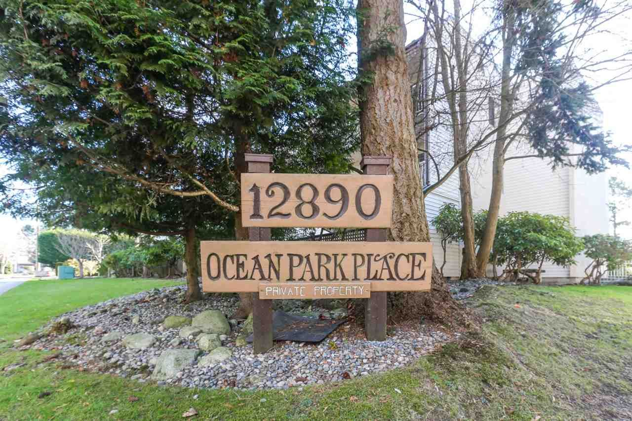 "Main Photo: 113 12890 17 Avenue in Surrey: Crescent Bch Ocean Pk. Condo for sale in ""Ocean Park Place"" (South Surrey White Rock)  : MLS®# R2567260"
