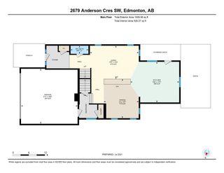 Photo 45: 2679 ANDERSON Crescent in Edmonton: Zone 56 House for sale : MLS®# E4256405