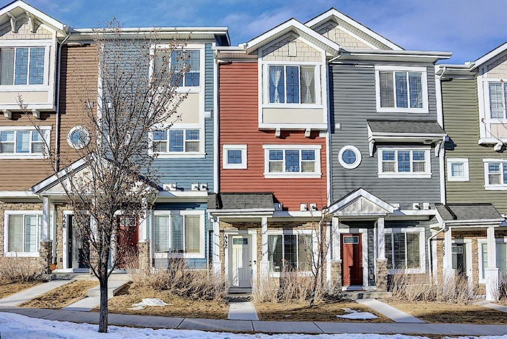 Main Photo: 442 Nolan Hill Boulevard NW in Calgary: Nolan Hill Row/Townhouse for sale : MLS®# A1073162