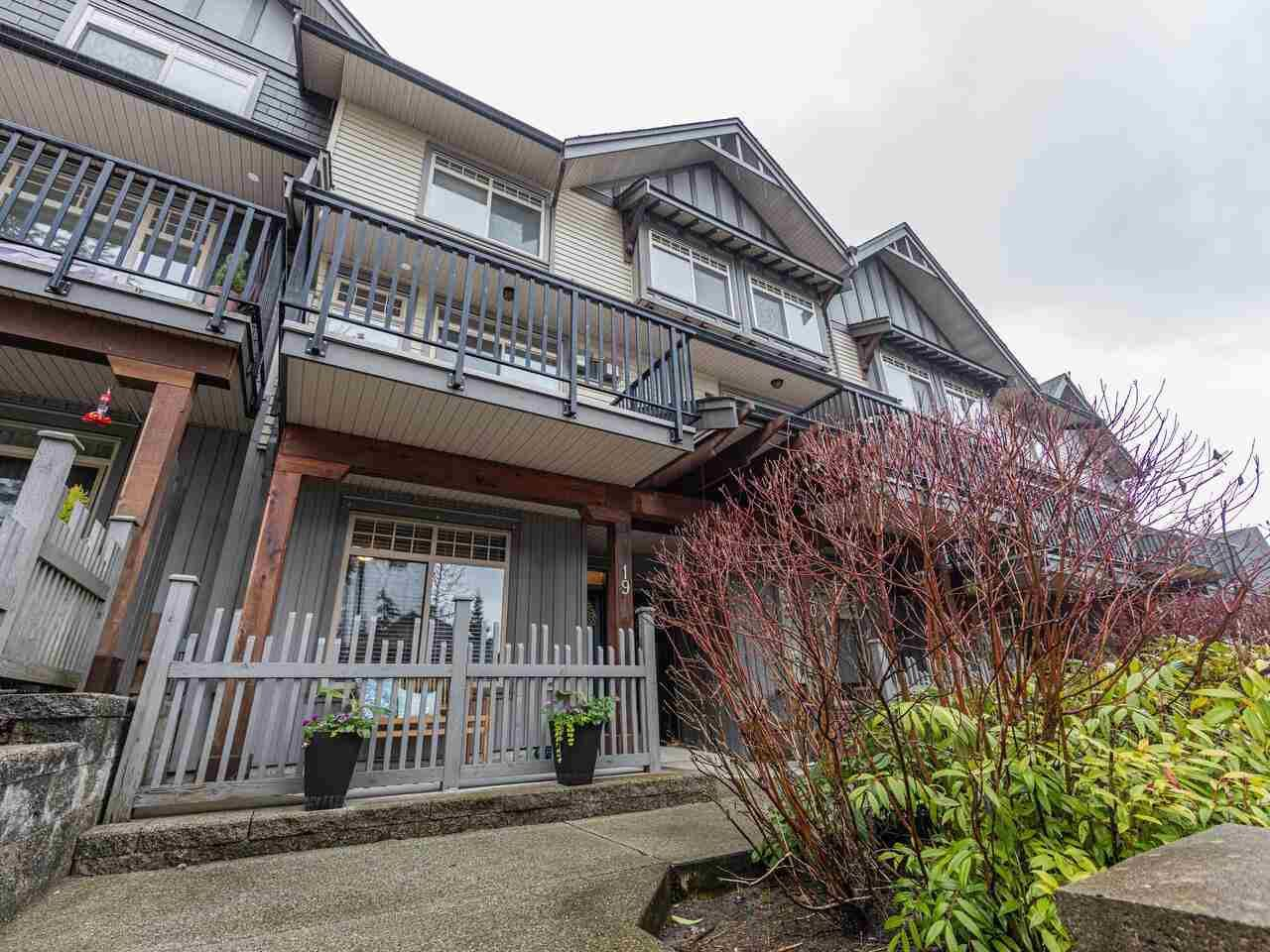 """Main Photo: 19 55 HAWTHORN Drive in Port Moody: Heritage Woods PM Townhouse for sale in """"Cobalt Sky by Parklane"""" : MLS®# R2584728"""