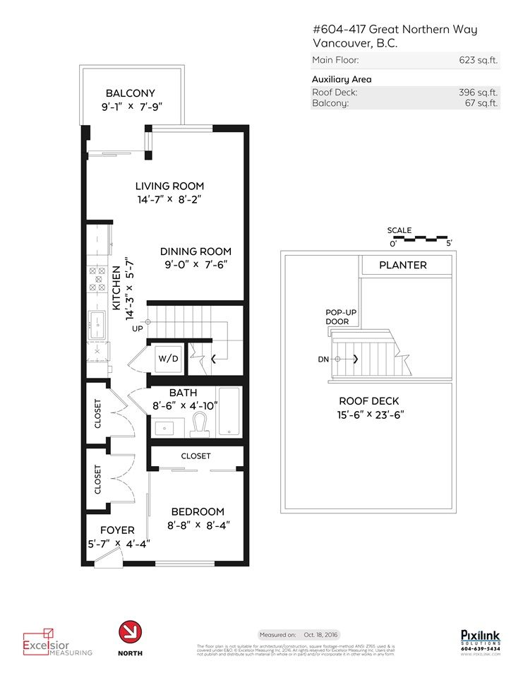 """Photo 18: Photos: 604 417 GREAT NORTHERN Way in Vancouver: Mount Pleasant VE Condo for sale in """"CANVAS"""" (Vancouver East)  : MLS®# R2118078"""
