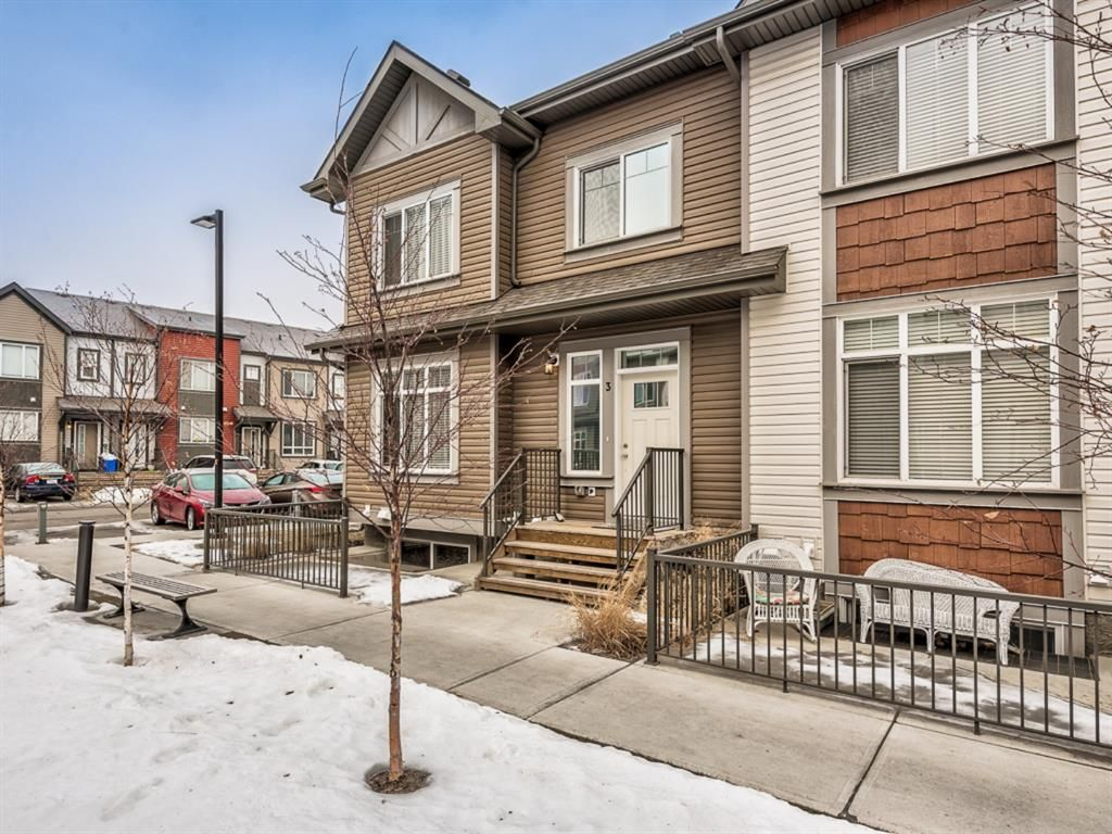 Main Photo: 3 Copperstone Common SE in Calgary: Copperfield Row/Townhouse for sale : MLS®# A1066287