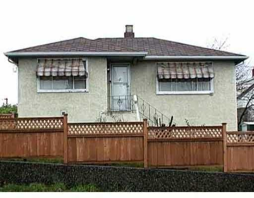 Main Photo: 807 20TH ST in New Westminster: West End NW House for sale : MLS®# V537286