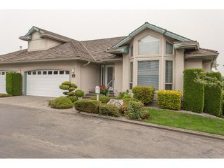 """Photo 1: 40 3555 BLUE JAY Street in Abbotsford: Abbotsford West Townhouse for sale in """"Slater Ridge Estates"""" : MLS®# R2203294"""