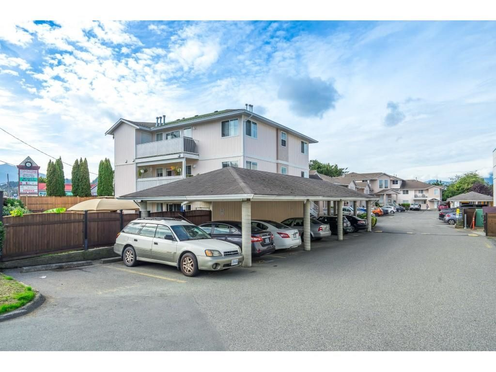 """Main Photo: 20 5915 VEDDER Road in Sardis: Vedder S Watson-Promontory Townhouse for sale in """"Melrose Place"""" : MLS®# R2623009"""