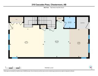 Photo 39: 216 Cascades Pass: Chestermere Row/Townhouse for sale : MLS®# A1133631