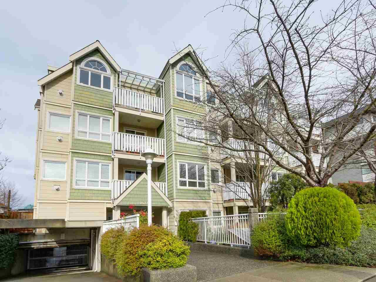 Main Photo: 303 1623 E 2ND AVENUE in Vancouver: Grandview VE Condo for sale (Vancouver East)  : MLS®# R2036799