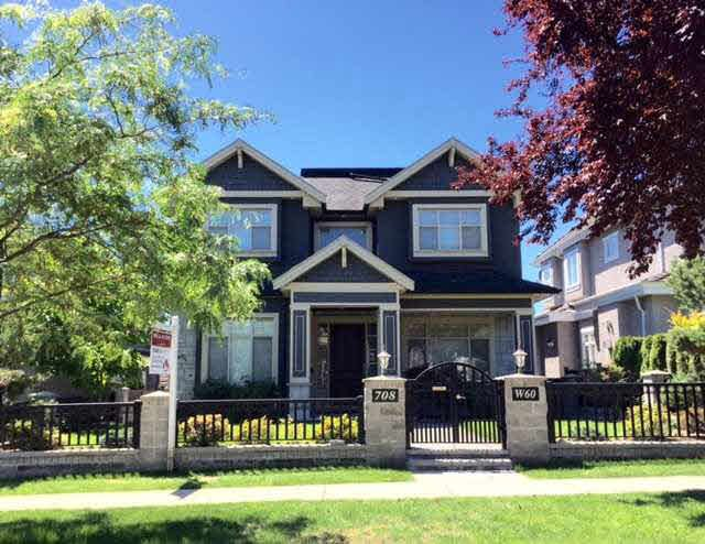 Main Photo: 708 W 60TH AVENUE in : Marpole House for sale : MLS®# V1128050