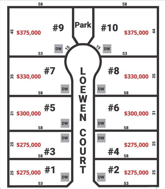 Main Photo: 9 LOEWEN Court in Warman: Lot/Land for sale : MLS®# SK866321