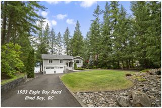 Photo 1: 1933 Eagle Bay Road: Blind Bay House for sale (Shuswap Lake)