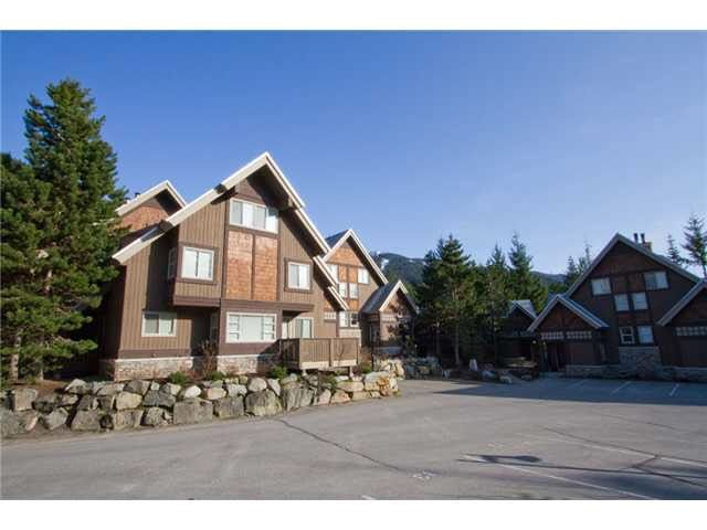 "Main Photo: 12 2640 WHISTLER Road in Whistler: Nordic Townhouse for sale in ""Rim Rock Village 2"" : MLS®# R2499143"