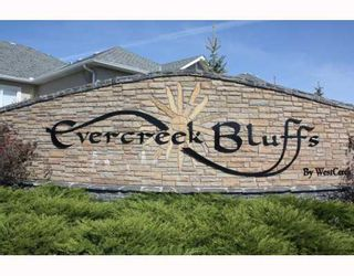 Photo 2: 399 EVERGLADE Circle SW in CALGARY: Evergreen Residential Detached Single Family for sale (Calgary)  : MLS®# C3381893