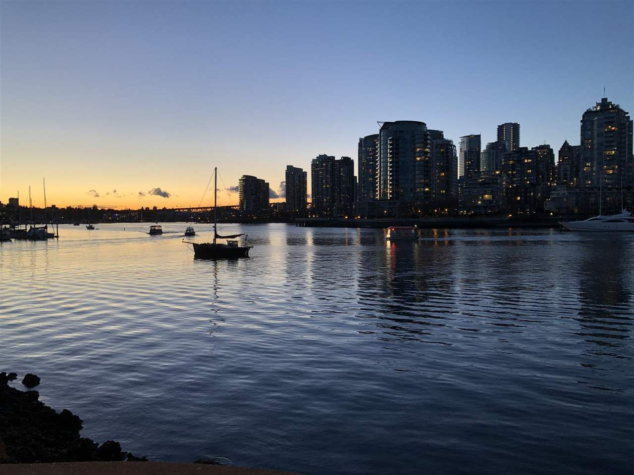 Main Photo: 101 1859 SPYGLASS PLACE in : False Creek Condo for sale (Vancouver West)  : MLS®# R2540570