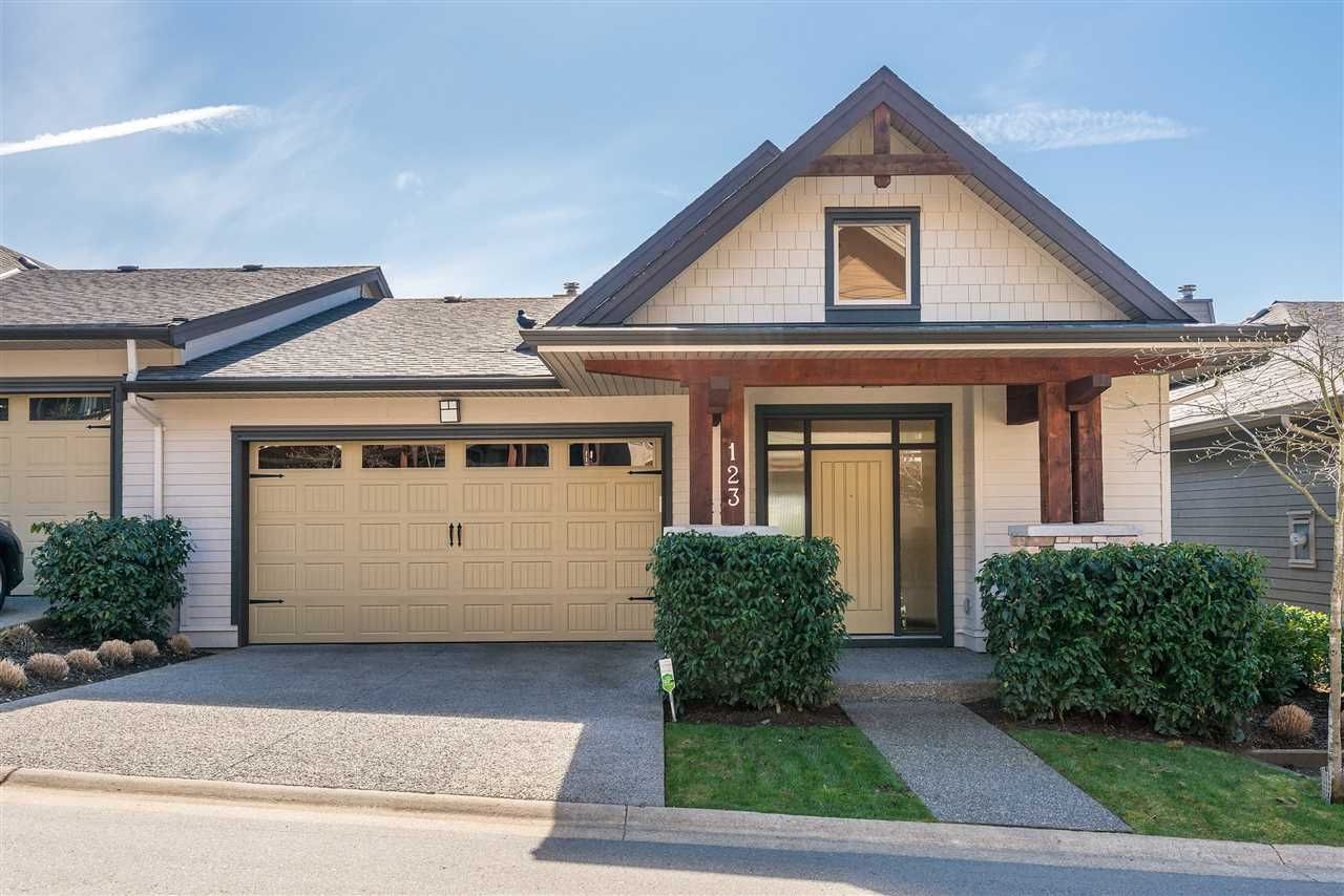 "Main Photo: 123 3458 BURKE VILLAGE Promenade in Coquitlam: Burke Mountain Townhouse for sale in ""SECRET RIDGE"" : MLS®# R2352987"