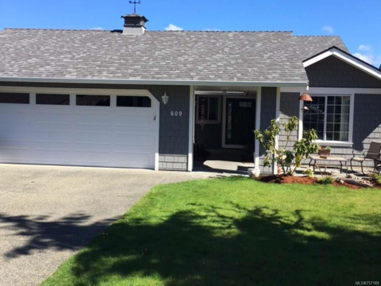 Main Photo: 609 Pine Ridge Dr in COBBLE HILL: ML Cobble Hill House for sale (Malahat & Area)  : MLS®# 757189