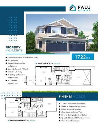 Photo 1: 226 39A Avenue in Edmonton: Zone 30 House Half Duplex for sale : MLS®# E4266268