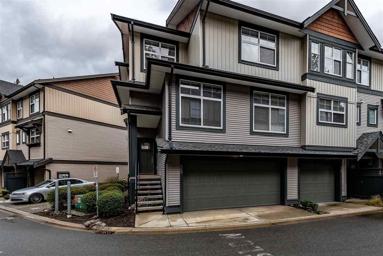 """Main Photo: 55 6123 138 Street in Surrey: Sullivan Station Townhouse for sale in """"PANORAMA WOODS"""" : MLS®# R2430750"""