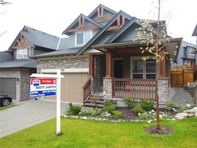 Main Photo: 3427 HORIZON Drive in Coquitlam: Burke Mountain House for sale : MLS®# V1058585