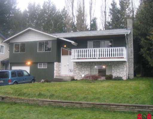 Main Photo: 32993 BRACKEN AV in Mission: Mission BC House for sale : MLS®# F2604990