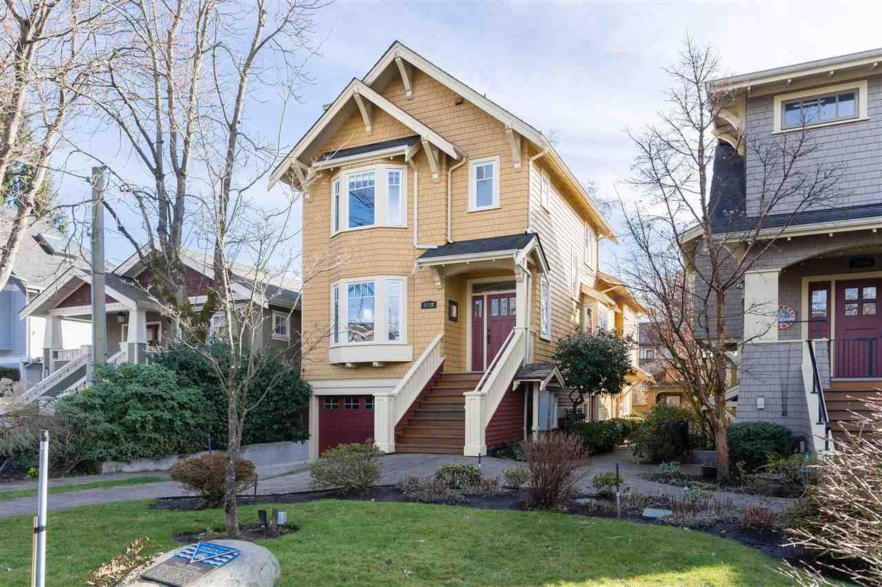 Main Photo: 3528 W 5TH Avenue in Vancouver: Kitsilano 1/2 Duplex for sale (Vancouver West)  : MLS®# R2548810