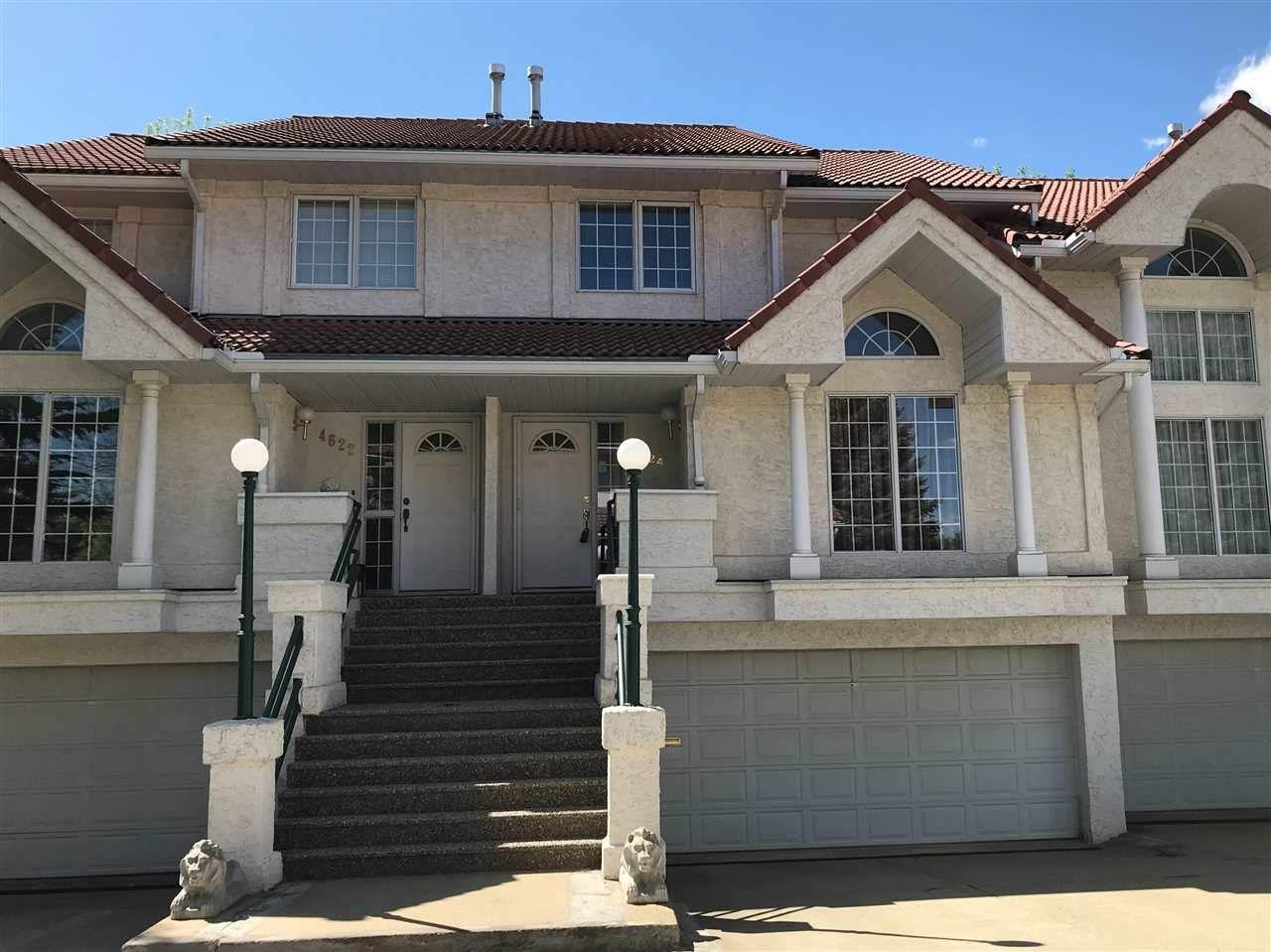 Main Photo: 4624 151 Street in Edmonton: Zone 14 Townhouse for sale : MLS®# E4225694