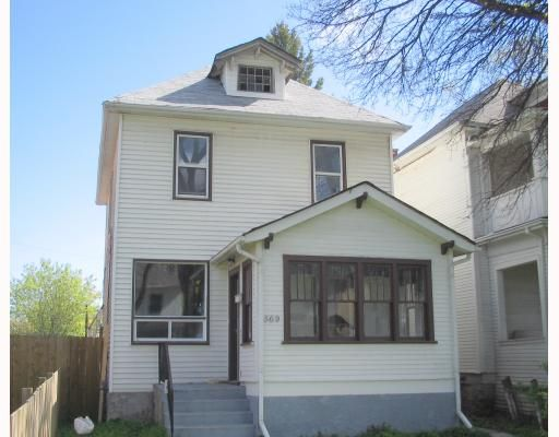 Main Photo: 569 COLLEGE Avenue in WINNIPEG: North End Residential for sale (North West Winnipeg)  : MLS®# 2916453
