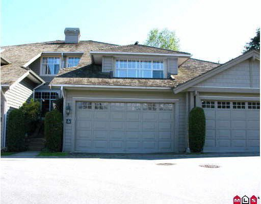 Main Photo: 40 15020 27A AVENUE in : Sunnyside Park Surrey Townhouse for sale : MLS®# F2909772